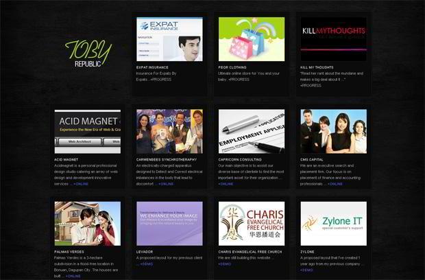 wordpress portfolio website design - Kheendesign.com