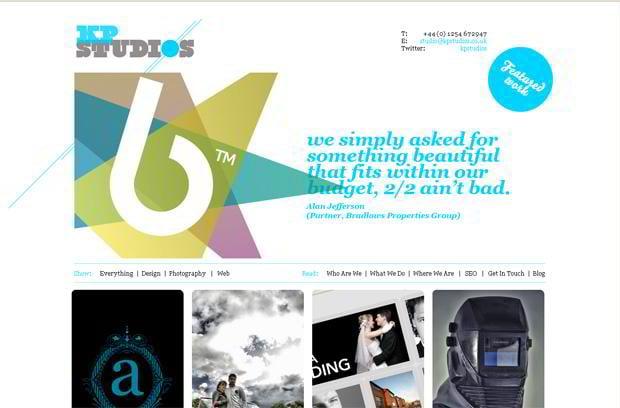 portfolio wordpress theme - Kpstudios.co.uk