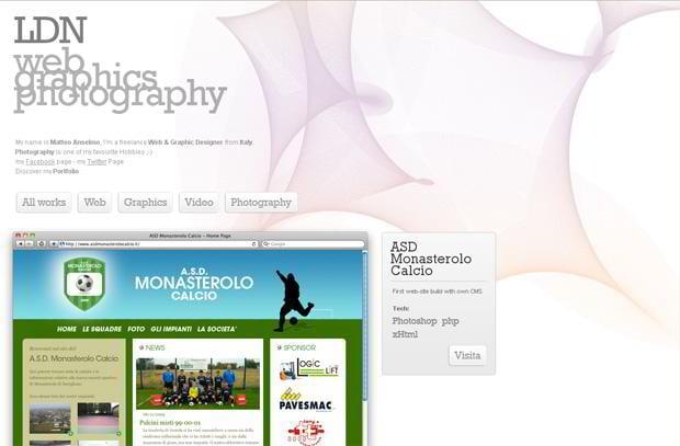 wordpress portfolio web design - Lamaz.net