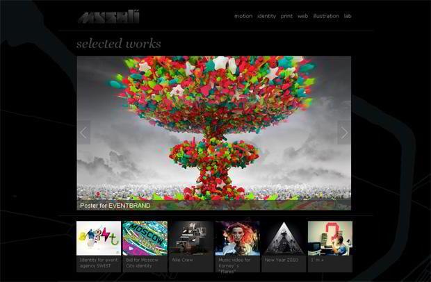 portfolio wordpress theme - Myshli.com