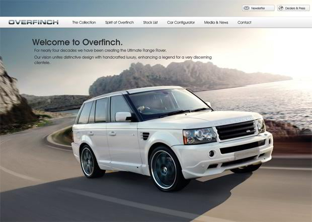 car design theme - Overfinch