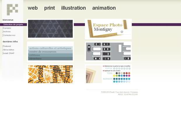 wordpress portfolio design - Pixxell.portfolio.free.fr