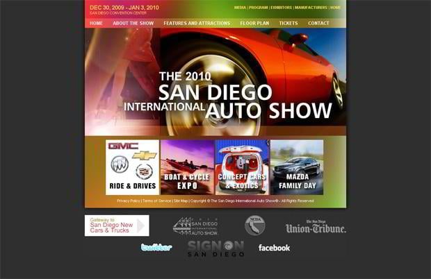 car website - SDautoshow