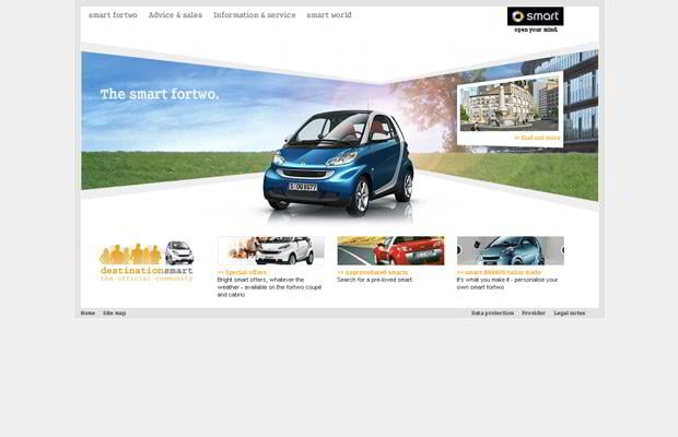 car web theme - Smart