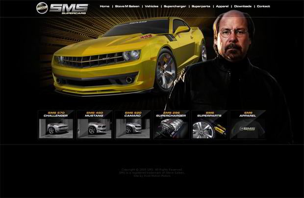 car web design - Smssupercars