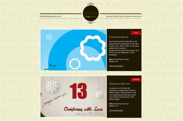 wordpress portfolio theme - Soyuzno.com