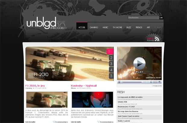 video blog wordpress - Unblogged.fr