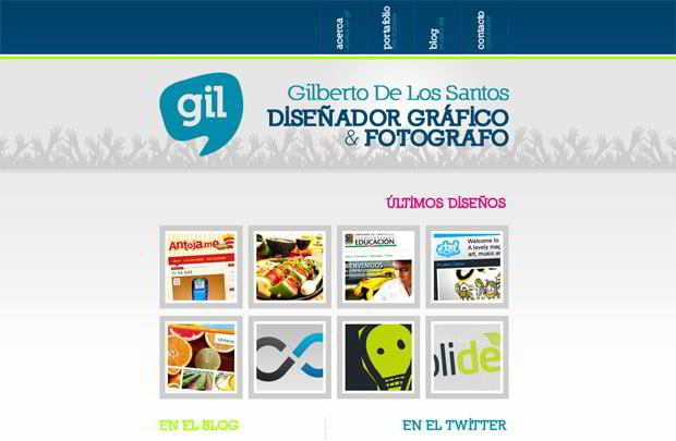 portfolio website wordpress theme - Yosoygil.com