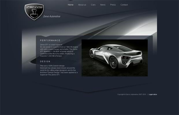 car design theme - Zenvoautomotive