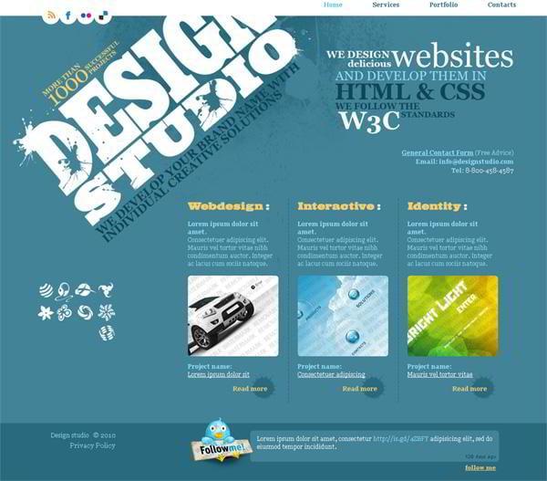 Design Studio jQuery template