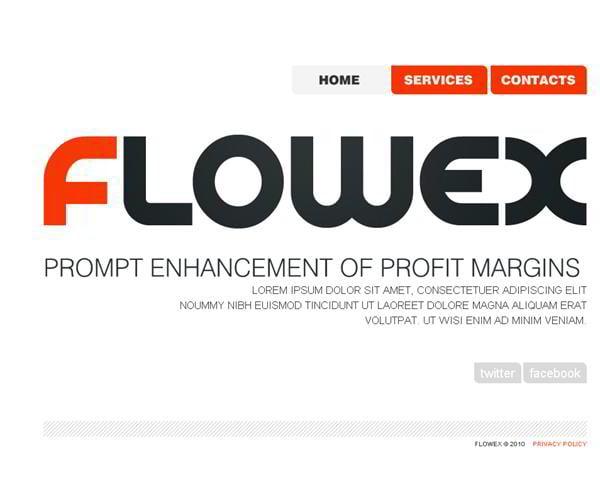 Flowex jQuery template
