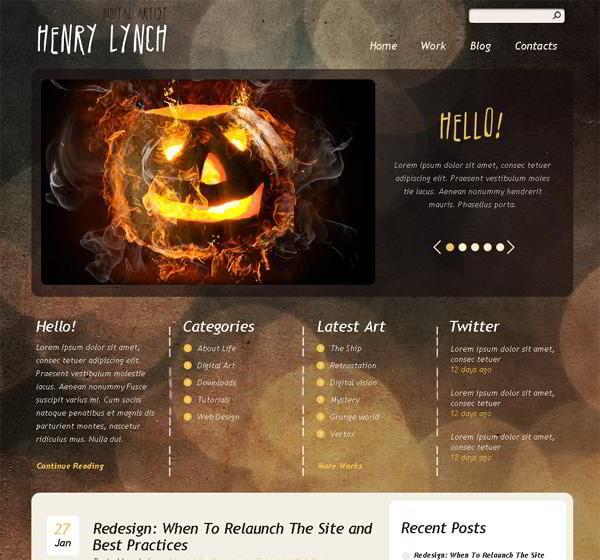Henry Lynch jQuery template