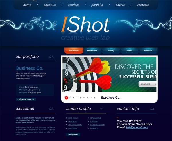 IShot jQuery template