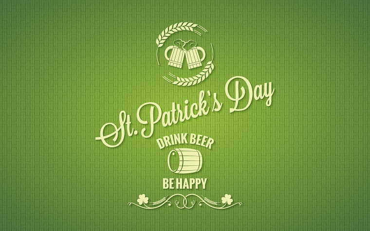 Patrick Day Beer Design Background. Corporate Identity Template.
