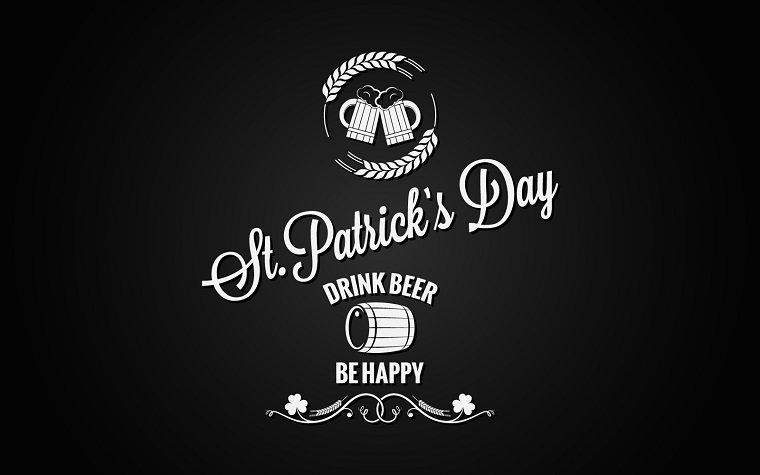 Patrick Day Beer Label Design. Corporate Identity Template.