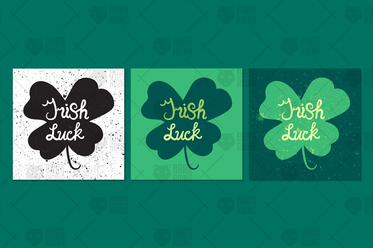 St. Patrick's Day Greeting Corporate Identity Template.