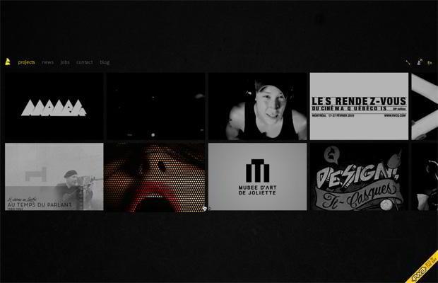flash web site design - Akufen.ca