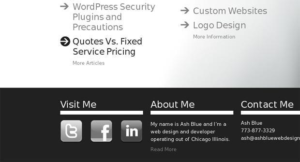 social icons - Ashbluewebdesign.com