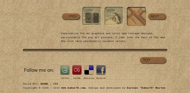 web design social icons - Bahur78.com