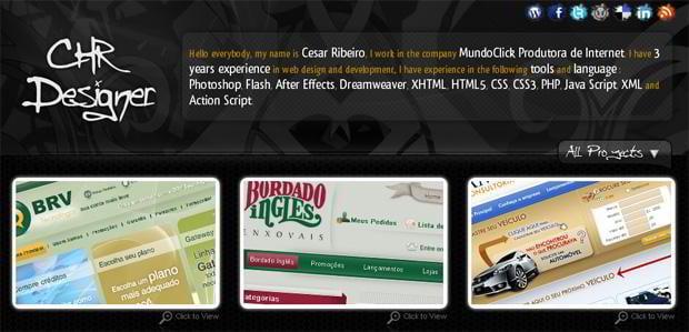 web design social icons - Chrdesigner.com
