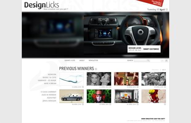 flash design - Designlicks.com