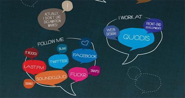 social icons web design - Duplos.org