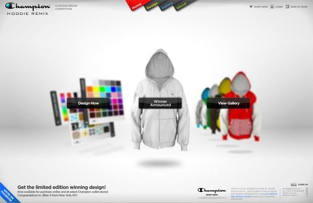 flash page design - Hoodieremix.com