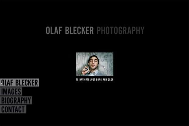 portfolio flash design - Olafblecker.de