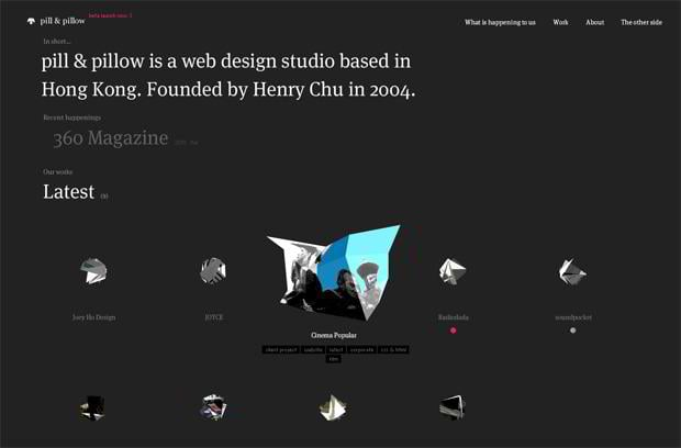 flash web design - Pillandpillow.com