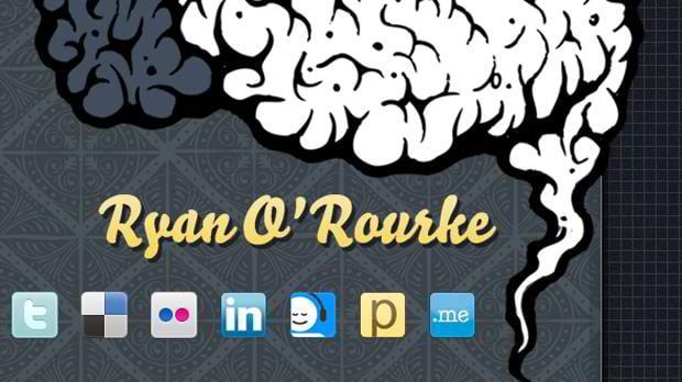 social icons - Ryan-orourke.com