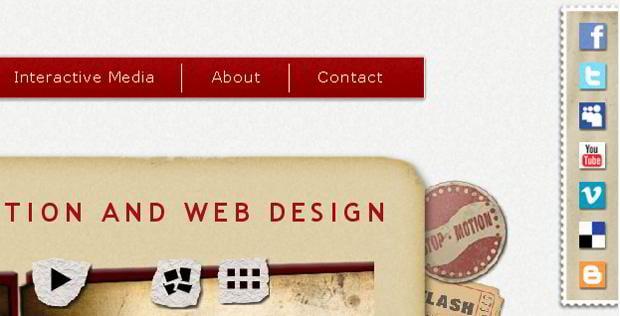 social icons web design - Slurpystudios.com