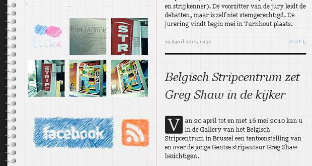 social icons web design - Stripturnhout.be