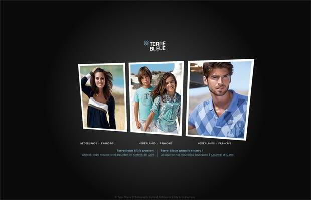 portfolio web design - Terrebleue.be