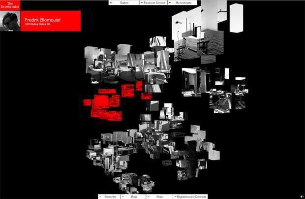 flash web site - Thinkingspace.economist.com