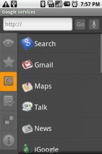 android web browsers - dolphin