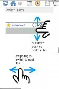 android web browsers - xscope