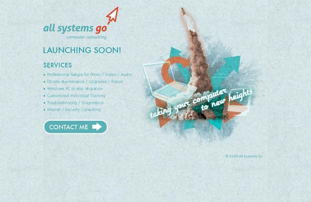 coming soon web design