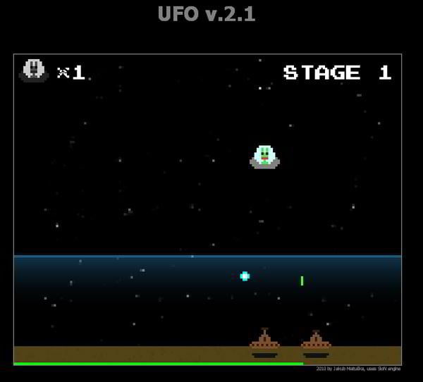 html5 games ufo