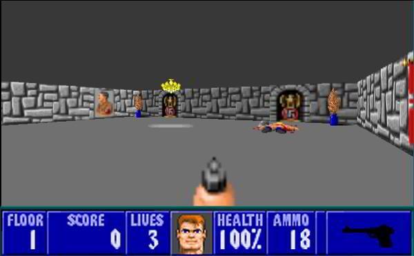html5 games wolfesntein