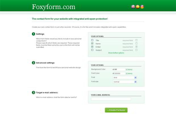 free contact form generator