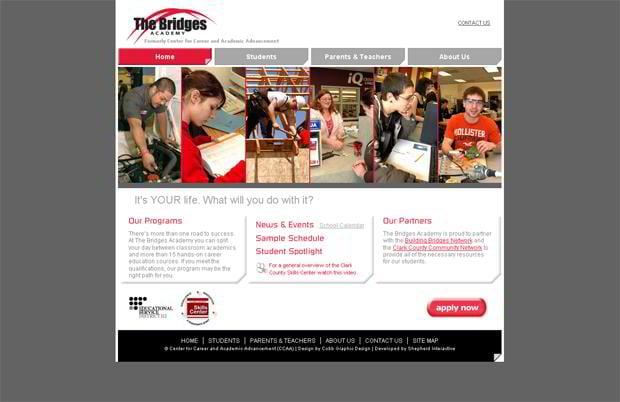 html5 web page