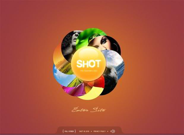 circular elements web design