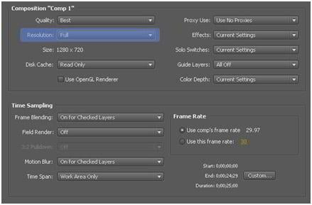 After Effects – 8 Ways to Increase Productivity and Render Speed