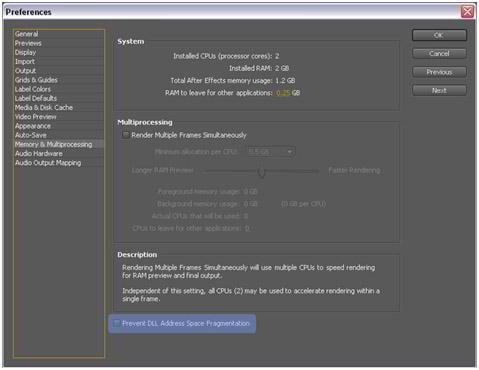 After effect best render option quicktime