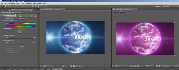 Adobe After Effects Tutorial – How to Color Up Your Effect