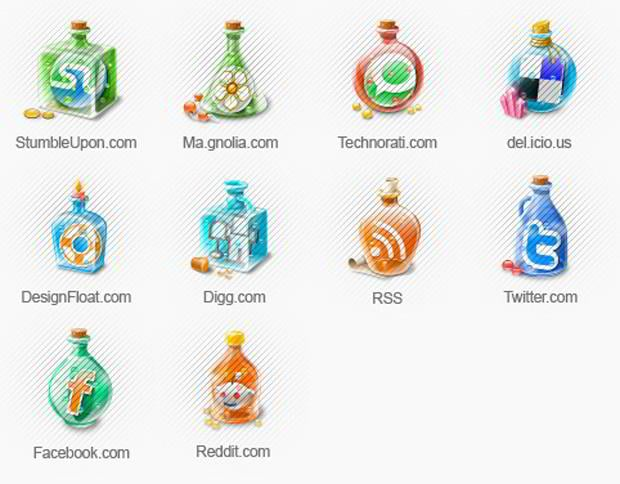 65 Free Social Networking Icon Sets