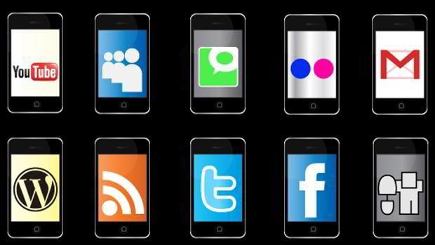 free social networking icon set