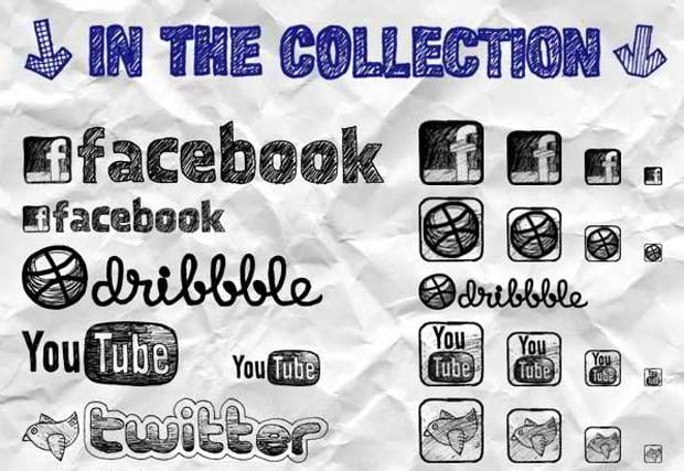 free social networking icon sets