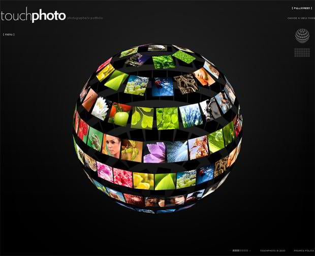 flash photo gallery design trends