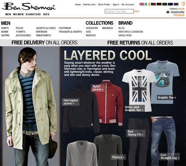 apparel online stores